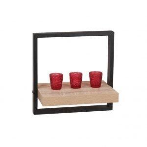 Nova Medium Framed Floating Wall Shelf Kit - IW Furniture